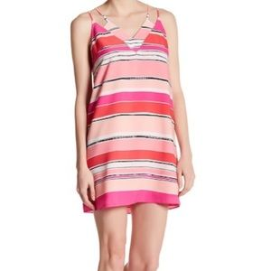 Cece Stripe Dress NWT